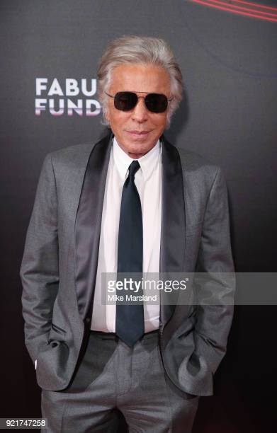 Giancarlo Giammetti attends the Naked Heart Foundation's Fabulous Fund Fair during London Fashion Week February 2018 at The Roundhouse on February 20...
