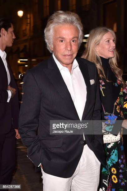 Giancarlo Giammetti attends the Valentino #ILoveSpike Cocktail as part of the Paris Fashion Week Womenswear Spring/Summer 2018 on September 26 2017...