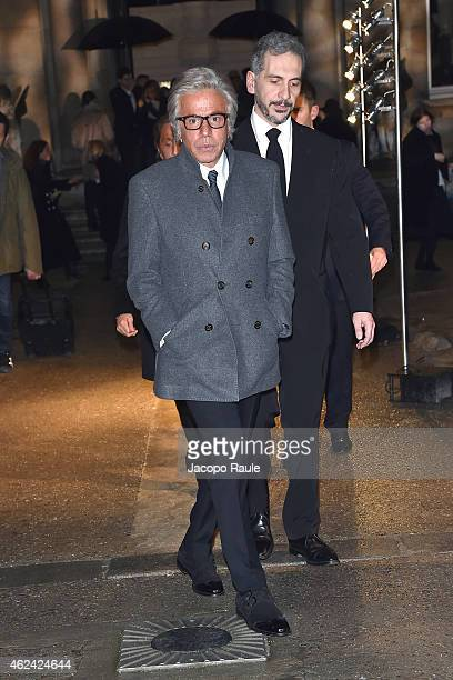 Giancarlo Giammetti attends the Valentino show as part of Paris Fashion Week Haute Couture Spring/Summer 201 on January 28 2015 in Paris France