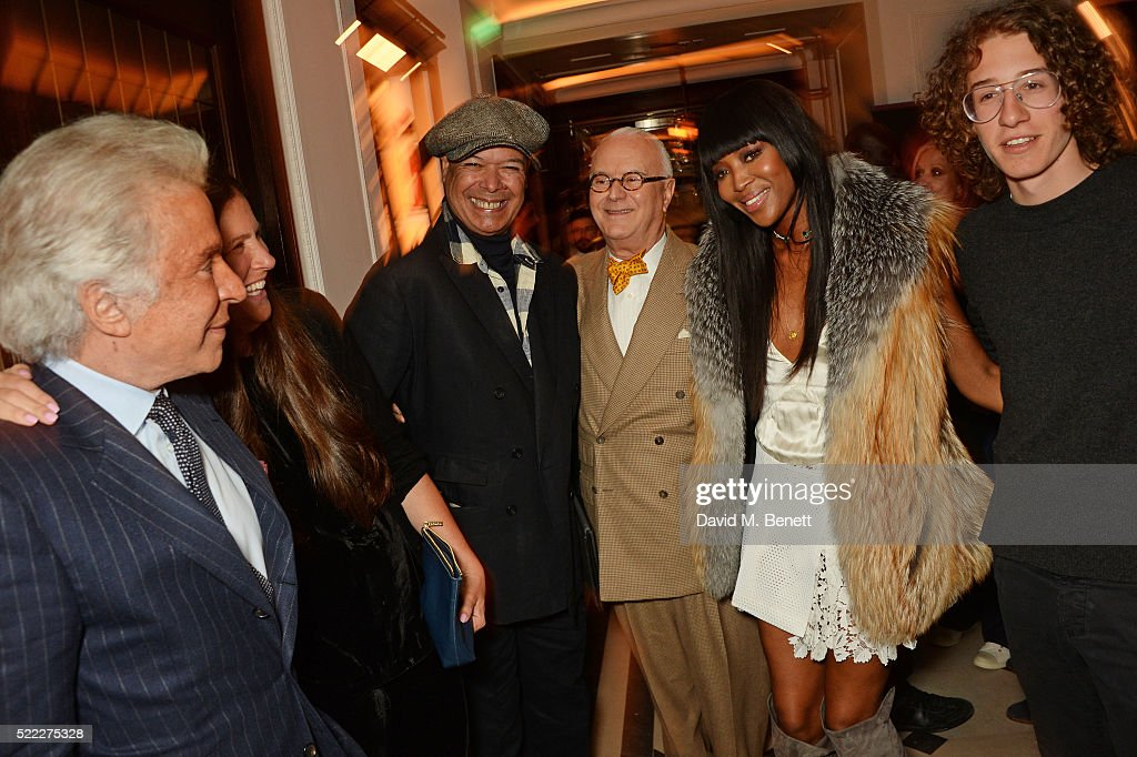 'Naomi' Book Launch Hosted By Naomi Campbell, Burberry And TASCHEN At Burberry's Thomas's Cafe In London - Arrivals