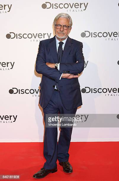 Giancarlo Giannini attends the Discovery Networks Upfront on June 14 2016 in Milan Italy