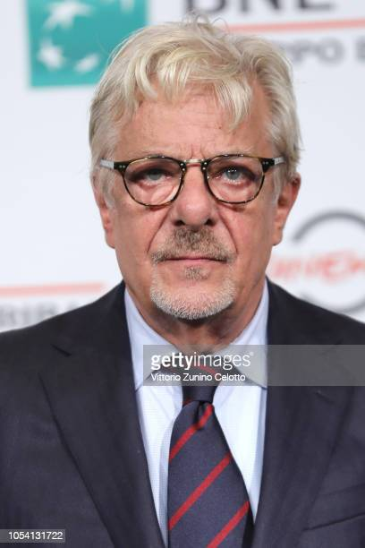 Giancarlo Giannini attends the Notti Magiche photocall during the 13th Rome Film Fest at Auditorium Parco Della Musica on October 27 2018 in Rome...