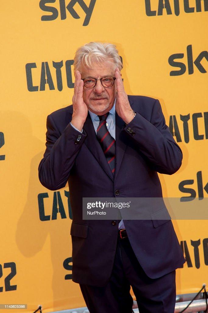 Red Carpet Preview Of The Sky Catch-22 TV Series : Foto di attualità