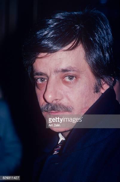 GianCarlo Giannini without glasses closeup circa 1970 New York