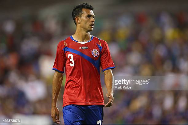 Giancarlo Gonzalez of Costa Rica looks dejected after defeat during the International Friendly Match between Japan and Costa Rica at Raymond James...