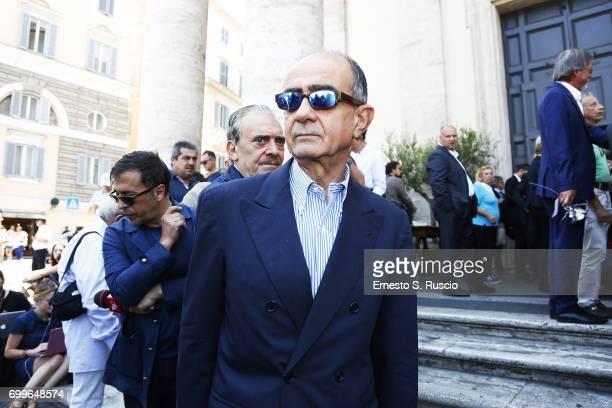 Giancarlo Leone attends during the Carla Fendi Funeral at Chiesa degli Artisti on June 22 2017 in Rome Italy