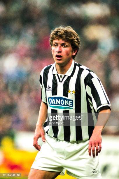 Giancarlo MAROCCHI of Juventus during the UEFA Cup Final second leg match between Juventus Turin and Parma at Stadium San Siro Milan Italy on 17th...
