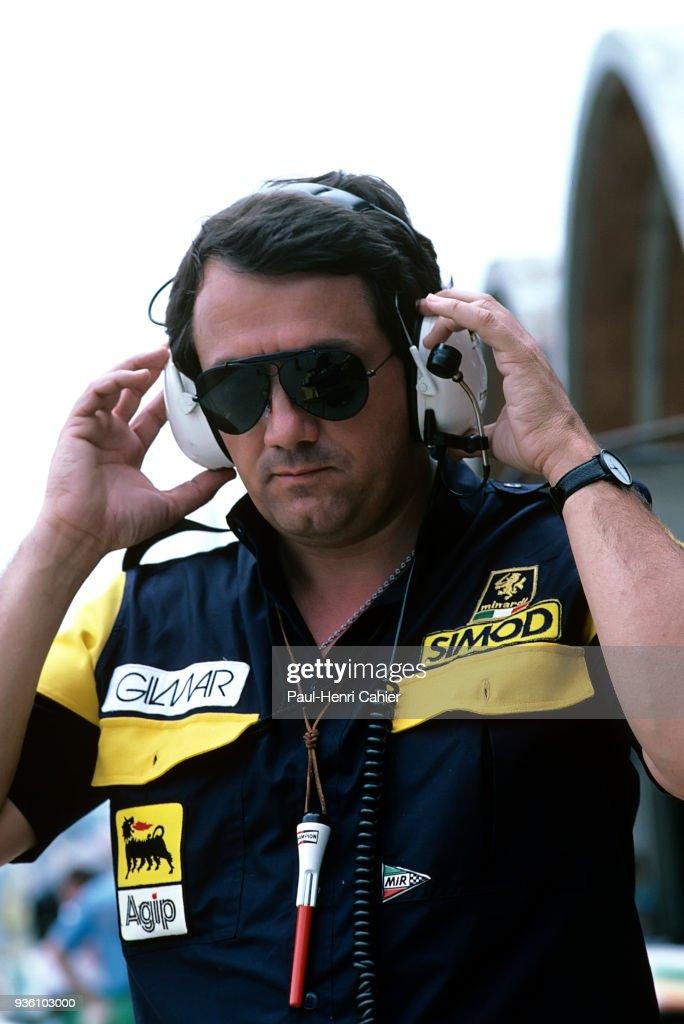Giancarlo Minardi, Grand Prix Of Brazil : News Photo