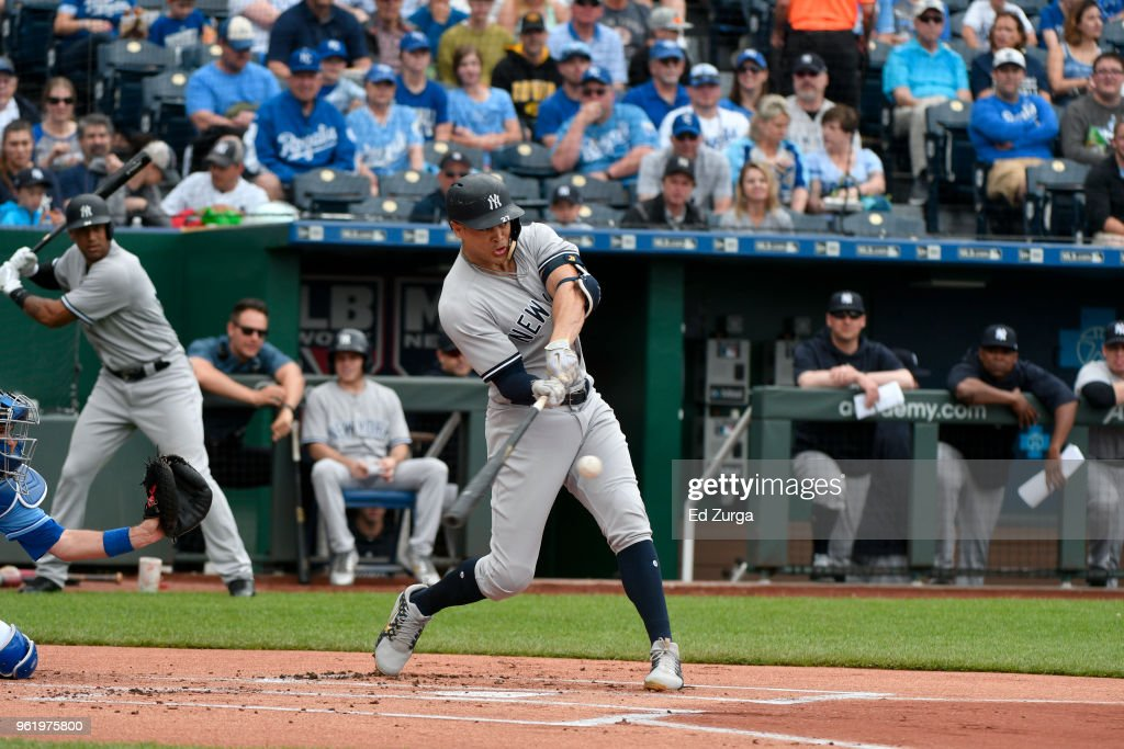 New York Yankees v Kansas City Royals : News Photo