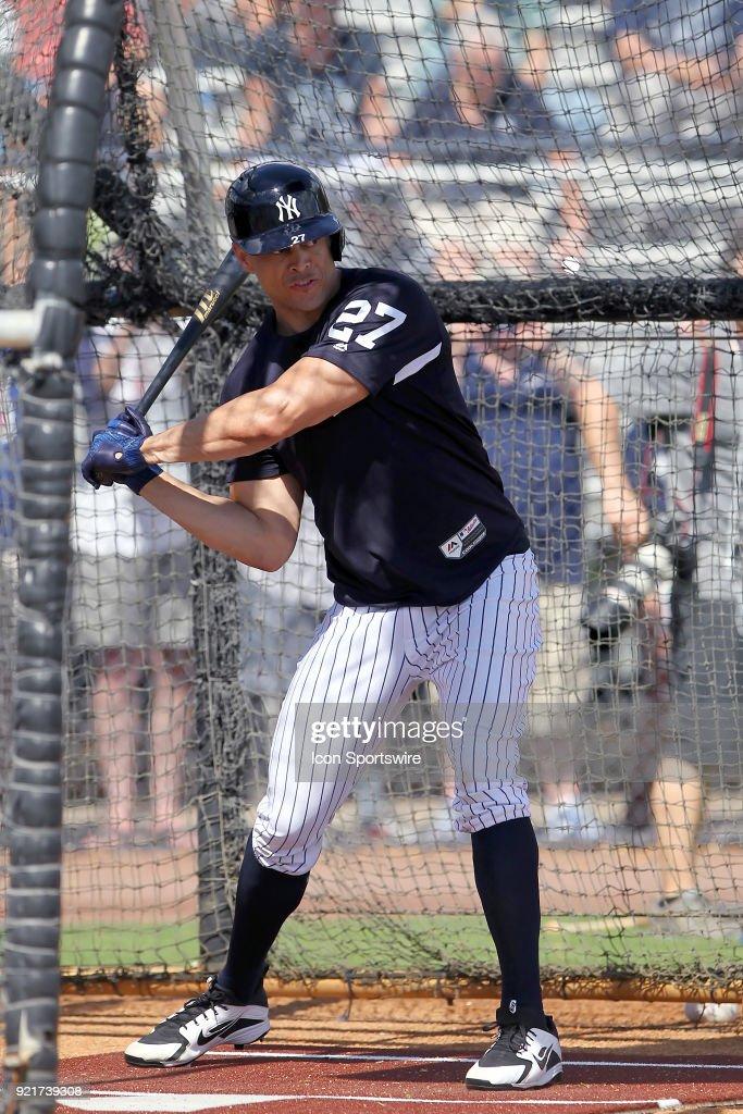 MLB: FEB 20 Spring Training - Yankees Workout : Foto di attualità