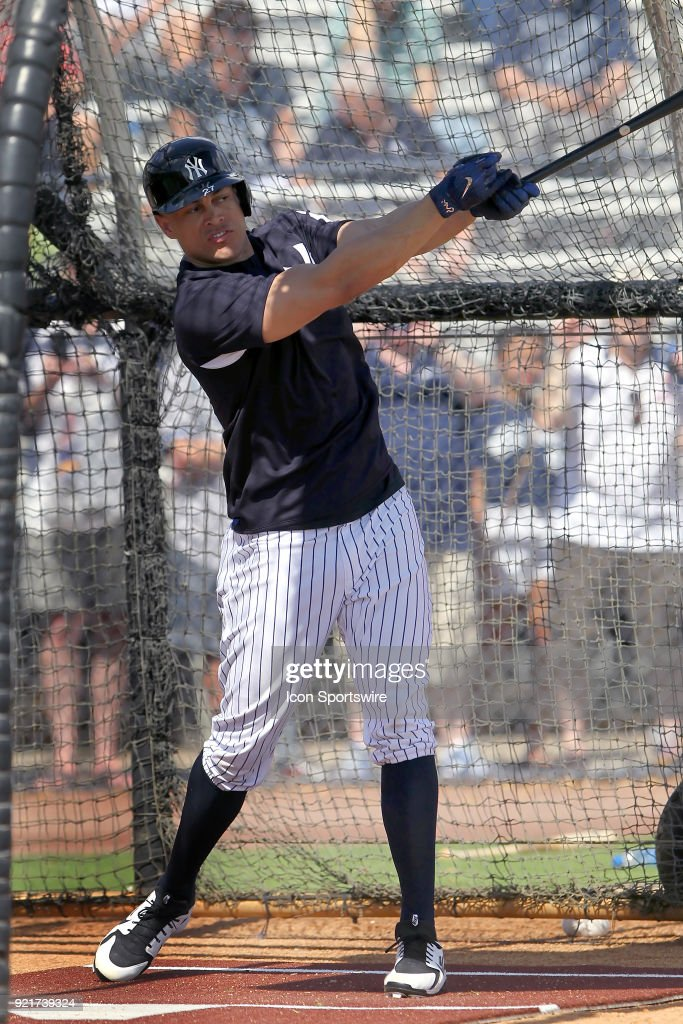 MLB: FEB 20 Spring Training - Yankees Workout
