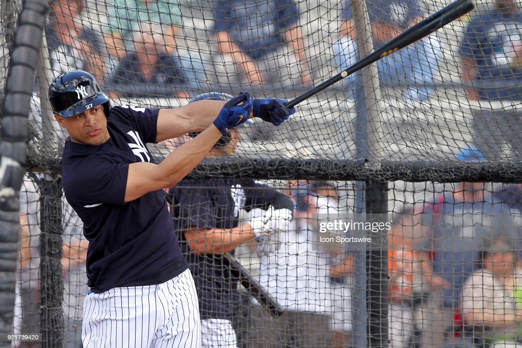 MLB: FEB 20 Spring Training - Yankees Workout : Nachrichtenfoto