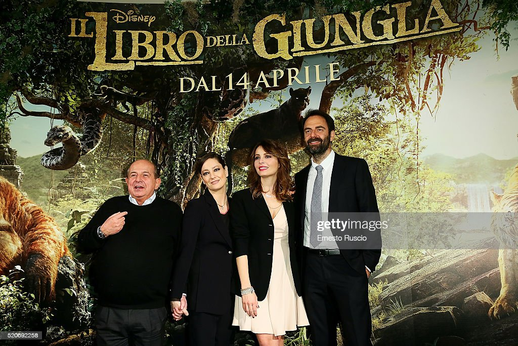 'Il Libro Della Giungla' Premiere In Rome : News Photo