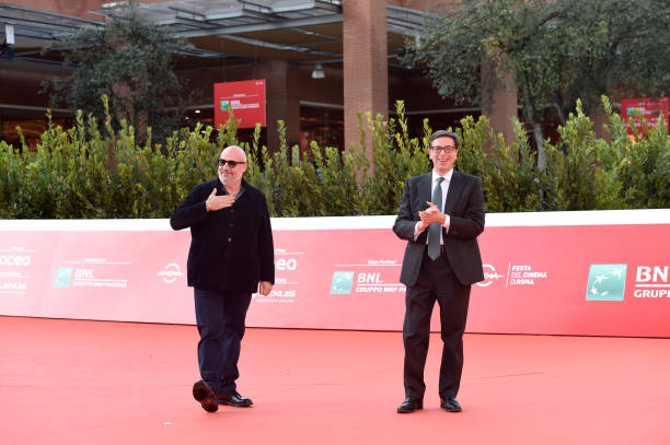 ITA: Gianfranco Rosi Red Carpet - 15th Rome Film Festival 2020