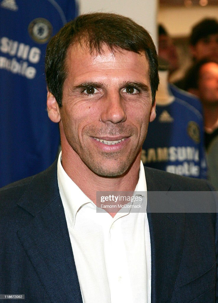 Gianfranco Zola - Harrod's Photocall - June 25, 2007