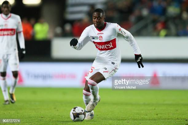 Giani Imbula of Toulouse during the League Cup match between Rennes and Toulouse on January 10 2018 in Rennes France