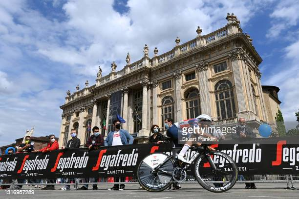Gianluca Brambilla of Italy and Team Trek - Segafredo during the 104th Giro d'Italia 2021, Stage 1 a 8,6km Individual Time Trial stage from Torino to...