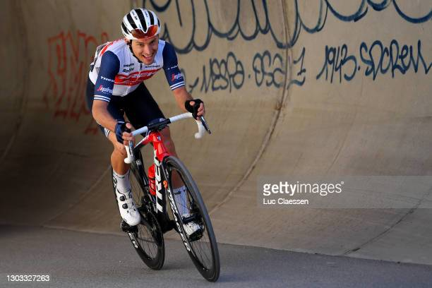 Gianluca Brambilla of Italy and Team Trek - Segafredo during the 53rd Tour Des Alpes Maritimes Et Du Var, Stage 3 a 134,7km stage from Blausasc to...
