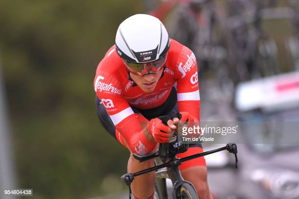 Gianluca Brambilla of Italy and Team Trek-Segafredo / during the 101th Tour of Italy 2018, Stage 1 a 9,7km Individual Time Trial from Jerusalem to...