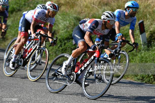 Gianluca Brambilla of Italy and Team Trek-Segafredo / during the 55th Tirreno-Adriatico 2020, Stage 7 a 181km stage from Pieve Torina to Loreto 114m...