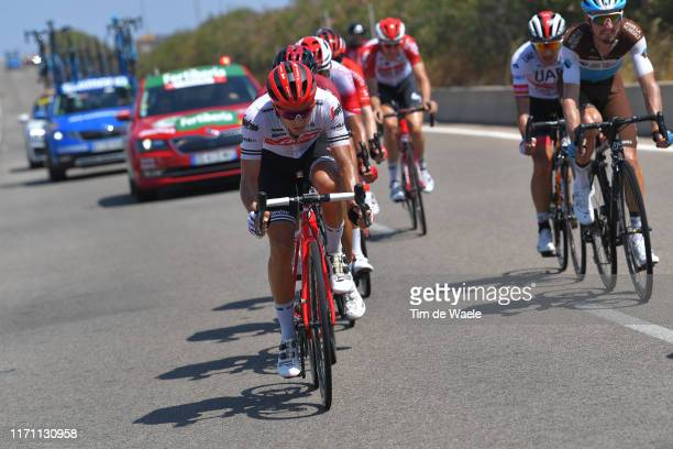 Gianluca Brambilla of Italy and Team Trek-Segafredo / during the 74th Tour of Spain 2019, Stage 7 a 179,1km stage from Onda to Mas de La Costa 985m /...