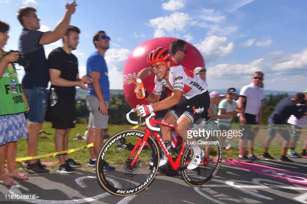 Gianluca Brambilla of Italy and Team TrekSegafredo / Feed Zone / Soigneur / during the 76th Tour of Poland 2019 Stage 7 a 153km stage from Bukovina...