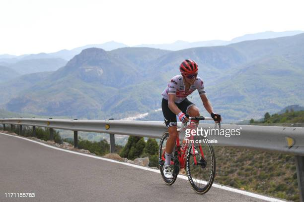 Gianluca Brambilla of Italy and Team Trek-Segafredo / Puerto del Salto del Caballo / during the 74th Tour of Spain 2019, Stage 7 a 179,1km stage from...