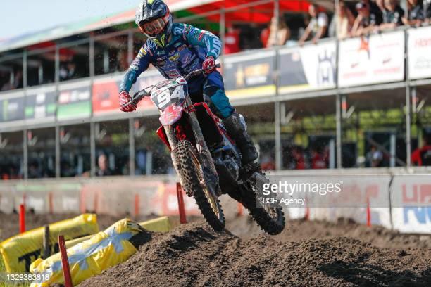 Gianluca Faccetti ITA Honda Honda Racing Assomotor Team during the 2021 FIM MXGP / MX2 Time Practice Motocross World Championships, on July 18, 2021...