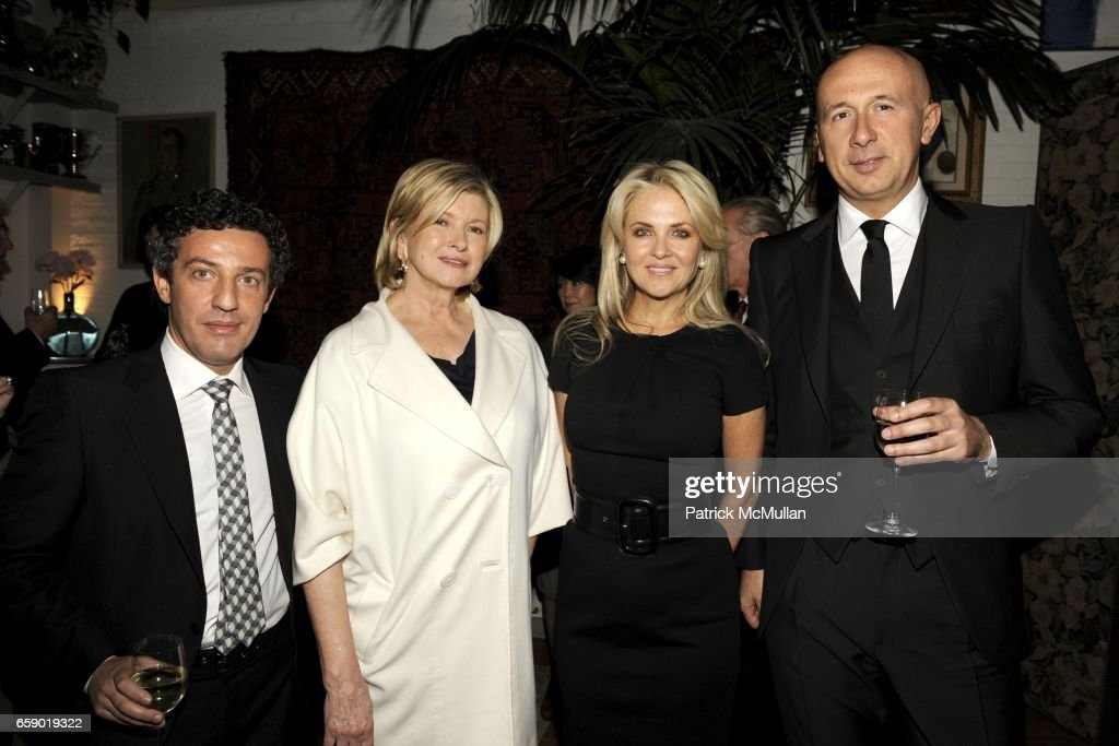 Gianluca Flore, Martha Stewart, Cornelia Guest, Marco... News Photo ...