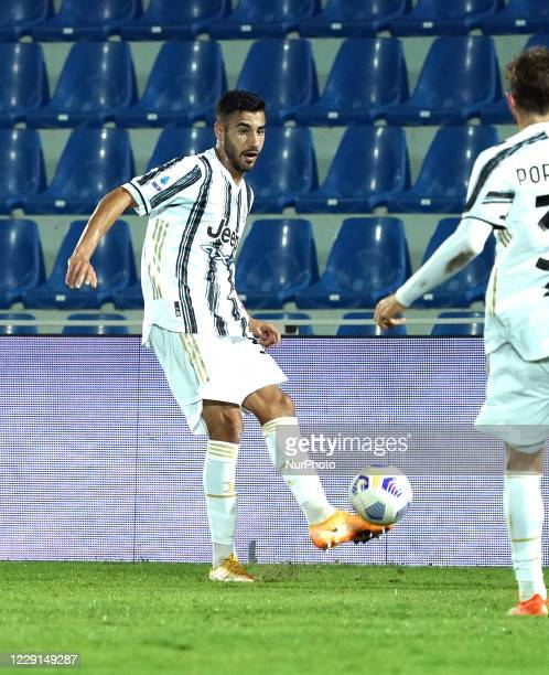 Gianluca Frabotta of Juventus Fc during the Serie A match between Fc Crotone and Juventus Fc on October 17 2020 stadium quotEzio Scidaquot in Crotone...