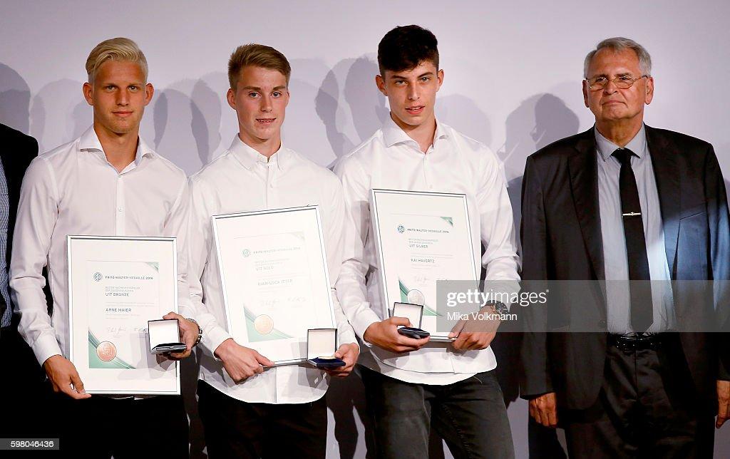 Fritz-Walter-Medal Awarding Ceremony : News Photo