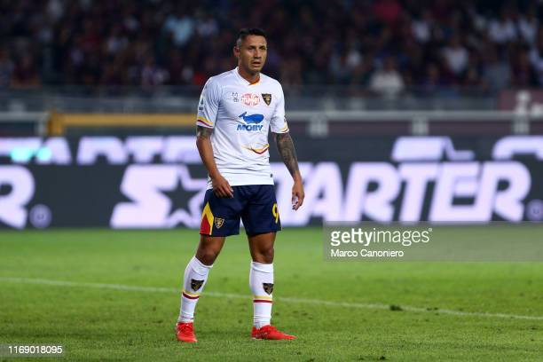 Gianluca Lapadula of Us Lecce during the Serie A match between Torino Fc and Us Lecce US Lecce wins 21 over Torino Fc