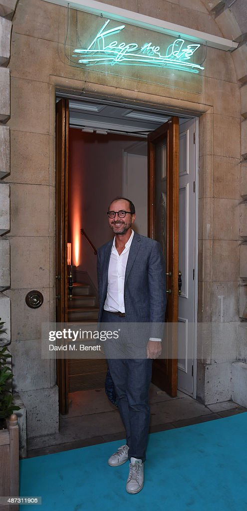 Gianluca Longo attends the launch of the Academicians' Room private members club in The Keeper's House at The Royal Academy of Arts on September 8, 2015 in London, England.