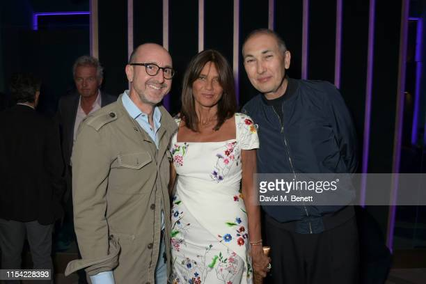 Gianluca Longo Lady Debonnaire Von Bismarck and guest attend Dundas Travelling Flagship on June 06 2019 in London England