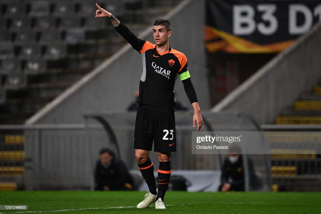 Sporting Braga v AS Roma  - UEFA Europa League Round Of 32 Leg One : News Photo