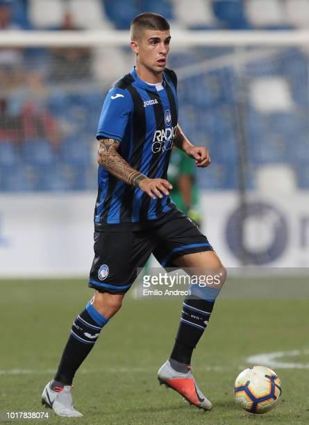 Gianluca Mancini of Atalanta BC in action during the Europa League Third Qualifying Round match between Atalanta BC and Hapoel Haifa at Mapei Stadium...