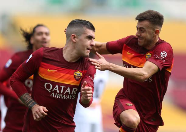 ITA: AS Roma  v Genoa CFC - Serie A