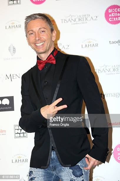 Gianluca Mech attends 'Alice Nella Citta' Jury Dinner during the 11th Rome Film Festival at on October 17 2016 in Rome Italy
