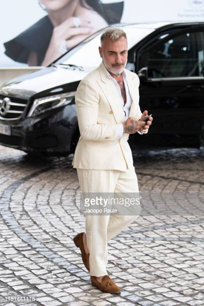 Gianluca Vacchi is seen during the 72nd annual Cannes Film Festival at on May 24 2019 in Cannes France