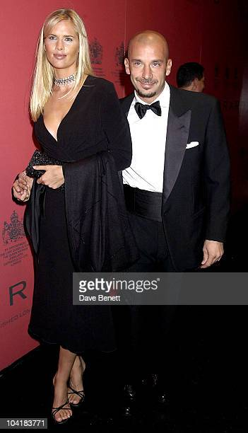 Gianluca Vialli And Girlfriend The Royal Jewellers Garrard Celebrated Their New Found Independence And Relaunch At A Party In The Tower Of...