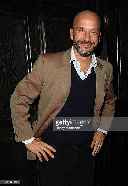 Gianluca Vialli attends the OSM Investors Launch on May 3 2012 in London England