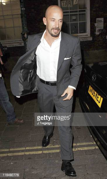 Gianluca Vialli during Fiat Punto Launch Party January 19 2006 at The Old Truman Brewery in London Great Britain