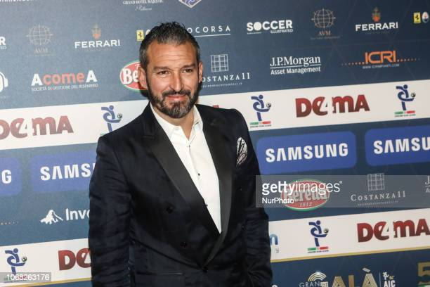 Gianluca Zambrotta at 'Oscar Del Calcio AIC' Italian Football Awards photocall in Milano Italy on December 03 2018