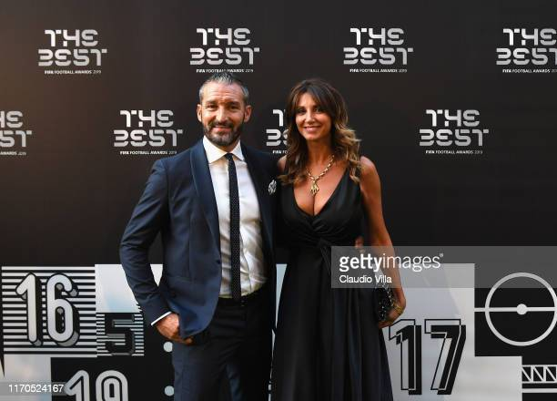 Gianluca Zambrotta attends The Best FIFA Football Awards 2019 at the Teatro Alla Scala on September 23 2019 in Milan Italy