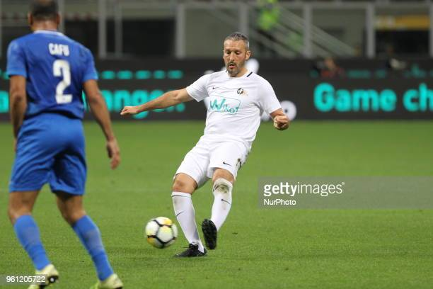 Gianluca Zambrotta during quotLa partita del Maestroquot the farewell match by Andrea Pirlo at Giuseppe Meazza stadium on May 21 2018 in Milan Italy