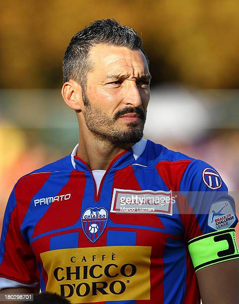 Gianluca Zambrotta of Chiasso looks on during the friendly match between Chiasso and AC Milan on September 7 2013 in Chiasso Switzerland