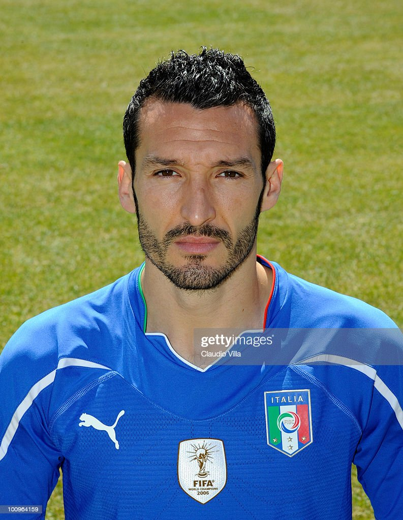 Gianluca Zambrotta of Italy poses during the official Fifa World Cup 2010 portrait session on May 26, 2010 in Sestriere near Turin, Italy.