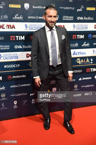 Gianluca Zambrotta on red carper of Gran Gala del Calcio AIC, an annual event that rewards the best players of the Serie A TIM held at the Megawatt...