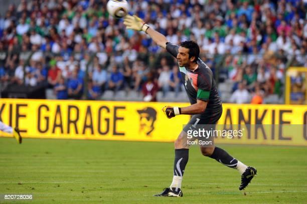 Gianluigi BUFFON Mexique / Italie Match amical a Bruxelles Preparation a la Coupe du Monde 2010 Stade Roi Baudouin