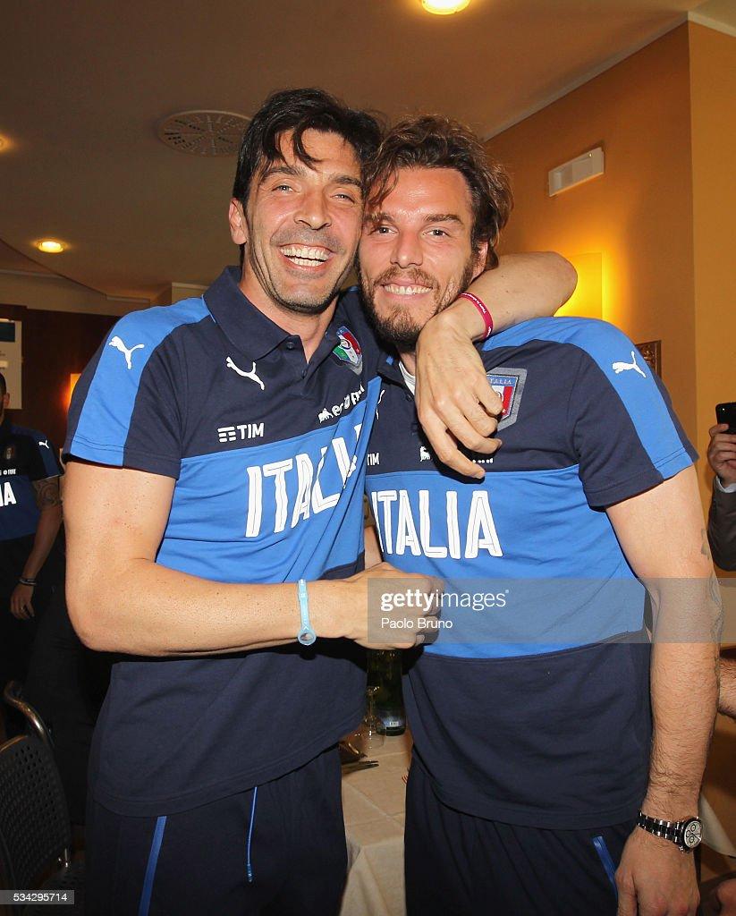 Italian Football Federation Sponsor's Day : News Photo